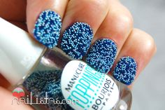 Bourjois // South Beach // Maliblue Swatch Caviar nails