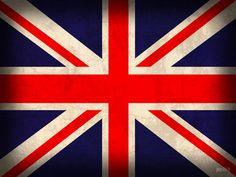 UJ Vintage London, Union Jack, Feng Shui, Vintage Art, Different Colors, Pop Art, England, Flags, Experimental