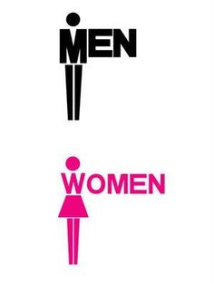Bathroom Sign Graphics awesome signage design | toilets, typography and creative