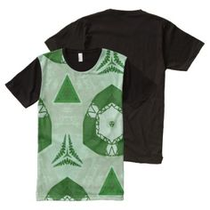 Modern abstract cool pattern All-Over-Print T-Shirt - click/tap to personalize and buy Types Of T Shirts, Stylish Shirts, Green Pattern, S Shirt, Cool Patterns, Abstract Pattern, Printed Shirts, Cool Stuff, Stuff To Buy