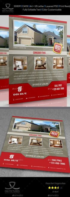 Mac Real Estate Flyer Templates For Open House Brochures - Free real estate flyer templates for mac