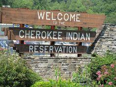 Cherokee NC Indian Reservation, North Carolina