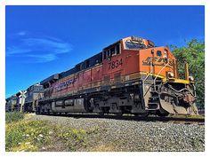 BNSF by JProcktorPhotography on Etsy Train, Etsy, Strollers, Trains