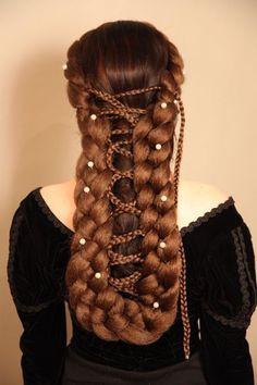 Sissi Wig,  Empress of Austria Wig - Zopfkronenliesl - Hair & Head Accessories