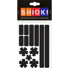 #shiok! #becomevisible! #retro-reflective #cycling #outdoor #sticker #bike I 9.95 EUR (incl. VAT) Dusk Till Dawn, Cycling, Stripes, Bike, Activities, Stickers, Retro, Frame, Outdoor