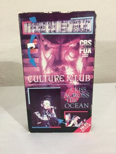 Culture Club A Kiss Across The Ocean VHS Tape Concert Video 1984 CBS Fox 6659 VHS Hi-Fi Stereo Recorded Live December 1983 by NostalgiaRocks