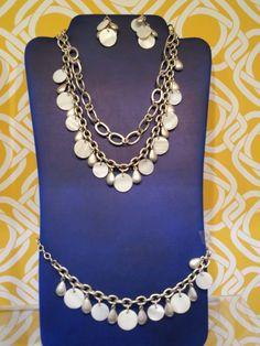 Premier Designs Spring/Summer Catalog 2012   White Linen Necklace & Earrings!  Interested contact me: wendyr326@sbcglobal.net