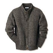 Eribé Peerie Wool Gentlemen's Knitted Jacket   Outerwear