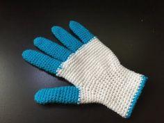 DIY. Comment tricoter des gants avec deux aiguilles!! - YouTube