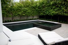black swimming pool - Google Search