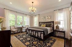 Calming Gray Bedroom