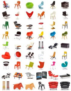Complete array of mid-century modern chair styles  sc 1 st  Pinterest & 23 best Chair styles images on Pinterest | Arredamento Carpentry ...