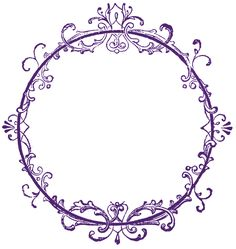 Free Vintage Borders Clip Art | Vintage Clip Art - Old Ink Label - Lacey Graphic Frame - The Graphics ...
