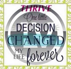 Best decision I've ever made, not just for me. I'm a better mother, wife, daughter, friend...better me because of Thrive. Join me and the millions already enjoying this life changing experience today! jessie52.le-vel.com
