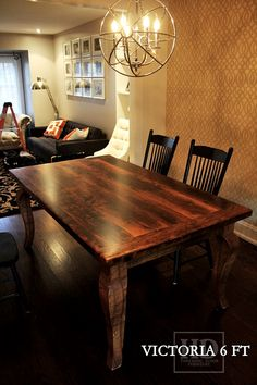 Check Out Our Extensive Library Of Beautiful Custom Reclaimed Wood Harvest  Tables Online Or Make An Appointment With Our Mobile Showroom!