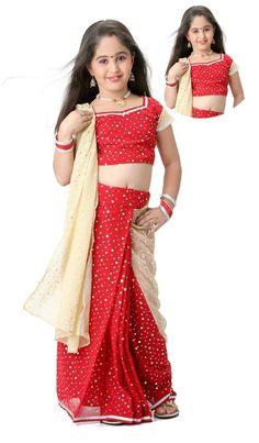 kids Fashion Saree
