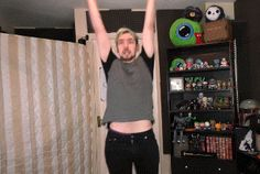 """marielgum: VR outro's devastating powers! (from """"YOU KNOW WHAT TO DO   SuperHOT VR #4 - END (Oculus Rift Virtual Reality)"""") therealjacksepticeye: SOMEONE STOP HIM"""