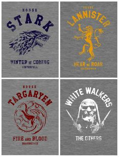 Game of Thrones print ideas