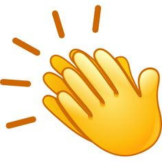 Clapping hands emoji is to show when you feel like clapping and is made for such moments. multiple times use of this emoji meaning is a huge round of Symbols Emoticons, Emoji Symbols, Funny Emoji Faces, Emoticon Faces, Animated Emoticons, Funny Emoticons, All Emoji, Smiley Emoji, Emoji Images