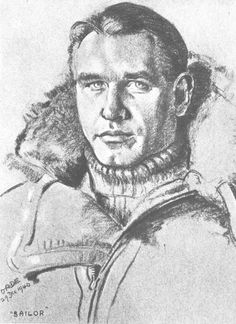 "Nearly all charcoal portraits that Cuthbert J Orde made for RAF Fighter Command had the pilot's rank, name and often awards on them. On the sketch of S/L Adolph G ""Sailor"" Malan of No 74 Squadron RAF, the artist merely wrote ""SAILOR"", such was the 30-year-old CO's stature at the time it was done on 29 December 1940, writing, ""A very strong face, a very quiet manner, and an air of authority made it obvious that here was a leader of great determination and ability, with a very sincere…"