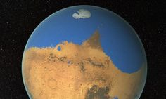 A huge primitive ocean covered one-fifth of the red planet's surface, making it warm, wet and ideal for alien life to gain a foothold, scientists say.