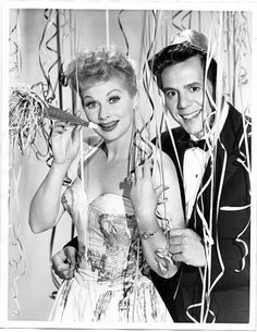 New Year's Eve: Lucille Ball and Desi Arnaz