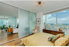 Master Bedroom 1040 Biscayne Boulevard, Unit 3207, Miami, FL, 33132 #TenMuseumPark #madeleineromanello #realmiamibeach 