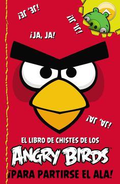 ANGRY BIRD. EL LIBRO DE CHISTES DE LOS ANGRY BIRDS. - ¡¡Para partirse el ala!! Cuando los Angry Birds se juntan para celebrar una victoria contra los malvados gorrinos, ¡les encanta reírse a picotadas contando sus chistes preferidos! ¿Tú sabes cuál es el pájaro que saca mejores notas? ¡Pues el que más empolla! ¿Y sabes lo que hace el último Angry Bird que llega? ¡Pues ponerse a la cola! ¡No te pierdas este divertidísimo libro de tus pájaros furiosos favoritos! ¡Te cochinarás de risa!