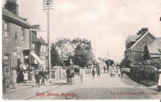 Postcard of Ardingly High Street Sussex 1907