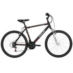 A Bicicleta Caloi Aluminum Sport Aro 26 é ideal para quem quer começar no Mountain Bike. Além de possuir grafismo moderno, conta com quadro em Alumínio e o conforto da suspensão frontal. | Netshoes