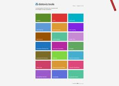 Datavizualisation Tools