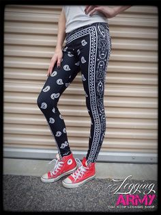 Black Bandit  Legging Army Sublimation Print:  Women's One Size: (Size 3-9) 92% Polyester 8% Spandex True to Fit Throughout Entire Size Range Comfortable, Quality Leggings Legging Army