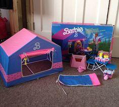 Old Barbie Dolls, Barbie Sets, Barbie Stuff, Barbie Dream, Barbie House, Retro Toys, Vintage Toys, Baby Play House, Barbie Playsets