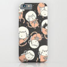 Cat-Stronauts iPhone & iPod Case