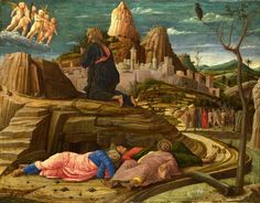 Andrea Mantegna - Agony in the garden