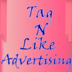 A GREAT way to get your page seen and known by advertising with us check us out at  www.facebook.com/tagnlike check us out on Facebook