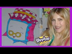 Shopkins Gran Jam  Coloring Page | COLORING WITH VANESSA