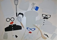 Items similar to Kitchen Chef sous chef pastry check Photo Booth Props kitchen utensils cooking chef photo booth props on Etsy Halloween Photo Booth Props, Photo Booth Party Props, Halloween Photos, Xmas Photos, Cooking Chef, Fire Dragon, Some Fun, One Pic, Cool Pictures