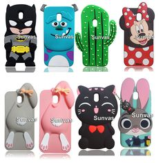 Cartoon Soft Silicone Case Cover For Samsung Galaxy 2017 Eu Version Samsung Cases, Samsung Galaxy, Capas Samsung, Cute Phone Cases, Phone Accessories, Mobiles, Galaxies, Bff, 3d Cartoon