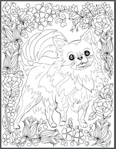De-stress With Dogs: Downloadable 10 Page Coloring Book for Adults Who Love Dogs
