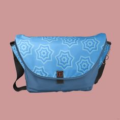 Cute messenger bag, stylish pattern! Meet new spring with this new messenger bag! More at www.zazzle.com/astulia