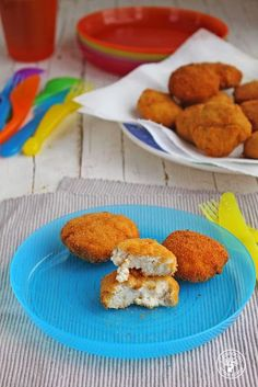 Nuggets de pescado caseros para niños. Receta paso a paso.