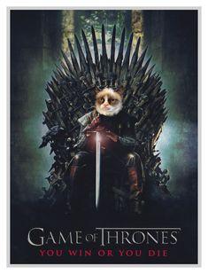 Custom pet portraitGame of Thrones posterGame of throne Game Of Thrones Poster, Game Of Thrones Tv, Portrait Images, Dog Portraits, Portrait Renaissance, Jolie Photo, Animal Paintings, Dog Art, Fine Art Paper