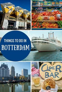 48 Hours in Rotterdam : From taking a boat tour to visiting museums and eating great food, there are lots of fun things to do in Rotterdam, Netherlands. Places To Travel, Travel Destinations, Places To Visit, Travel Tips, Utrecht, Travel Around The World, Around The Worlds, Rotterdam Netherlands, Travel Netherlands