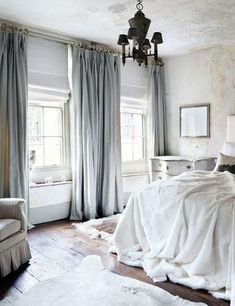 GET THE LOOK:White Linen Drapes | Nature decor, Linens and Bedrooms