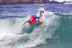 Mick Fanning falls to wildcard on day two of the Billabong Rio Pro Billabong, South Africa, Rio, Surfing, Waves, Boat, Fall, Outdoor, Autumn