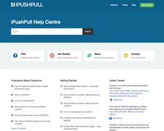Check out how iPushPull has displayed their Twitter feed on their Help Center. How cool is that?