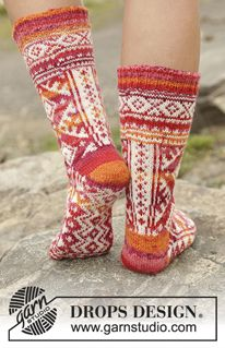 Footwear - Free patterns by DROPS Design