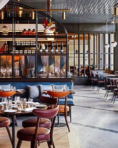hotel restaurant This Quaint New England College Town Might Be the Next Big Travel Destination Bar Restaurant Design, Hotel Restaurant, Western Restaurant, Casa Hotel, Hotel Lobby, Bug Hotel, Hotel Lounge, Hotel Pool, Hotel Suites