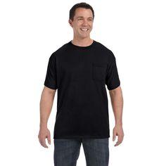 Hanes Men's Tagless Comfortsoft Pocket Undershirts